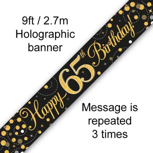 Banner Black Fizz 65th
