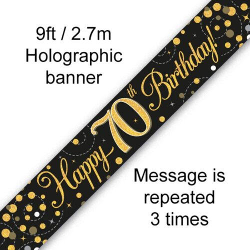 Banner Black Fizz 70th