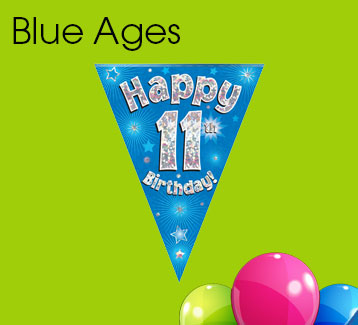 Blue Ages Bunting