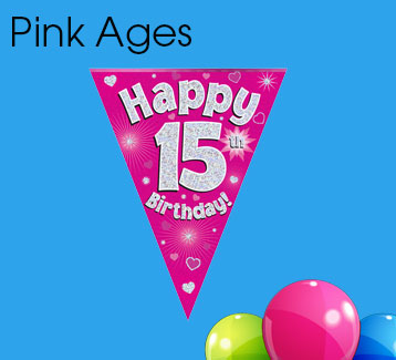 Pink Ages Bunting