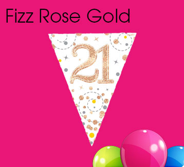 Rose Gold Fizz Bunting