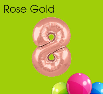 Rose Gold Numbers