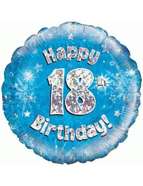 18th Foil Birthday Balloon