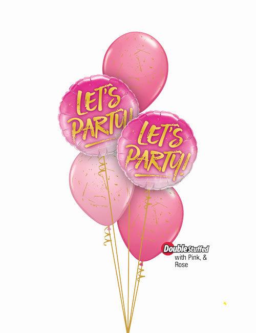Lets Party Paint Splatters