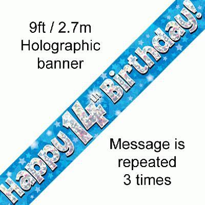 Blue, 14th, Banner