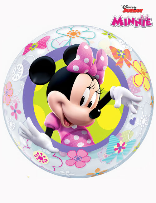 "22"" Bubble Disney Minnie Mouse Bow-Tique"