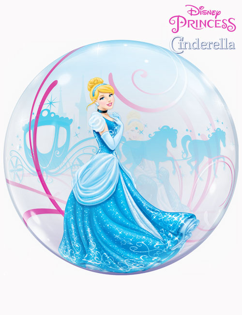 "22"" Bubble Disney Cinderella's Royal Debut"