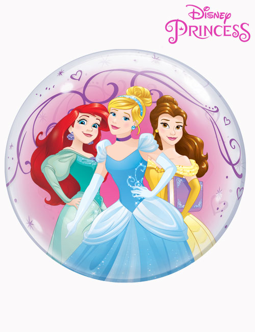 "22"" Bubble Disney Beautiful Princesses"