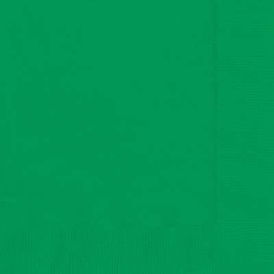 Luncheon Napkins x 20 Emerald Green