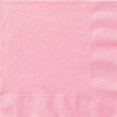 Luncheon Napkins x 20 Lovely Pink