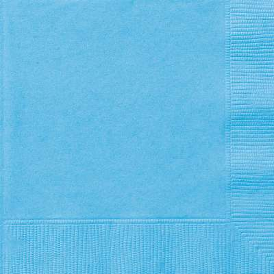 Luncheon Napkins x 20 Powder Blue