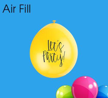 Air Filled Latex Balloons