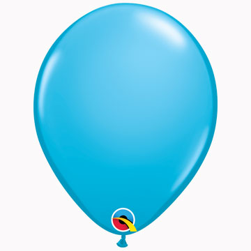 "11"" Plain Fashion Robins Egg Blue Latex Balloons (Pack 6)"