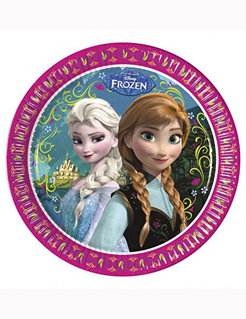 Disney Frozen Party Plates 23cm (Pack of 8)