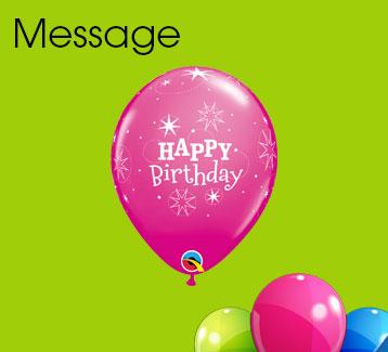 Message Latex Balloons
