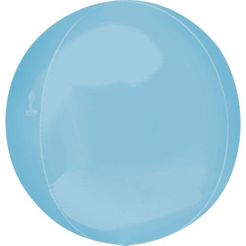 "Orbz Foil Balloon 15"" x 16"" Pastel Blue"