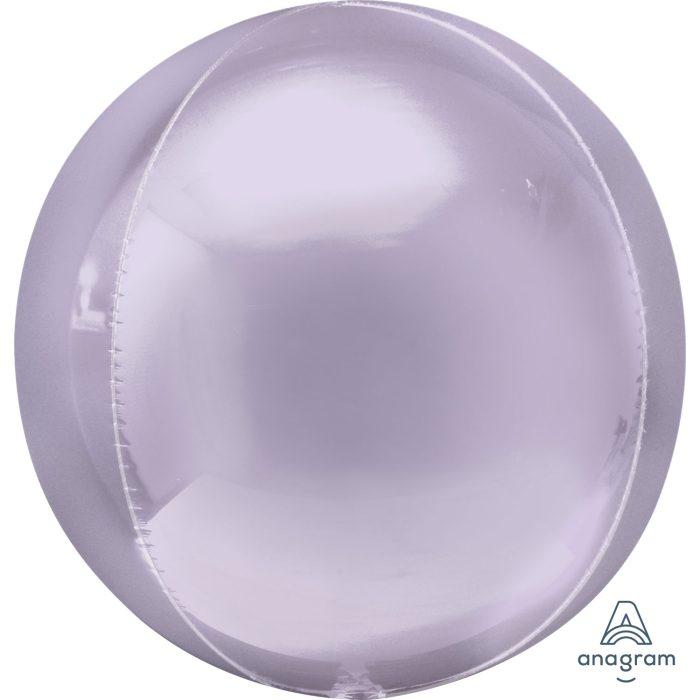 "Orbz Foil Balloon 15"" x 16"" Lilac"