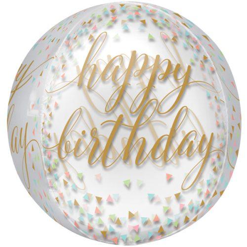 Orbz Happy Birthday Confetti Fun