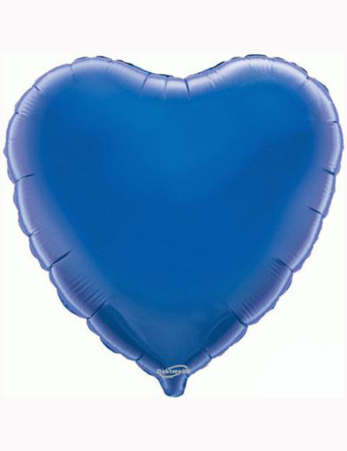 "18""-Blue-Heart-Foil-Balloon"