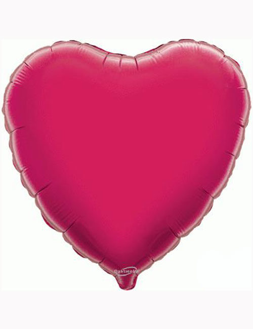 18'-Fuchsia-Heart-Foil-Balloon