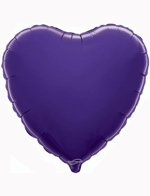 "18""-Purple-Heart-Foil-Balloon"