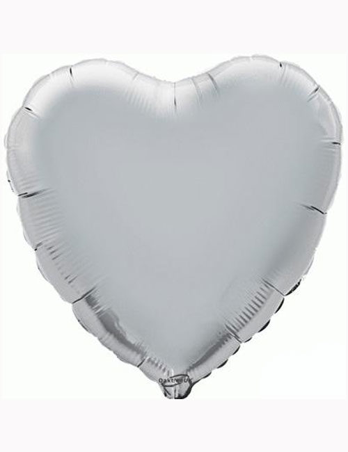 "18""-Silver-Heart-Foil-Balloon"