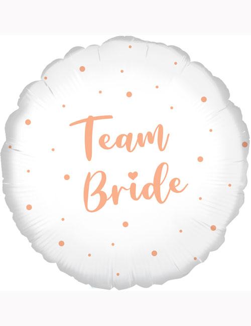"""18"""" Team Bride Balloon"""