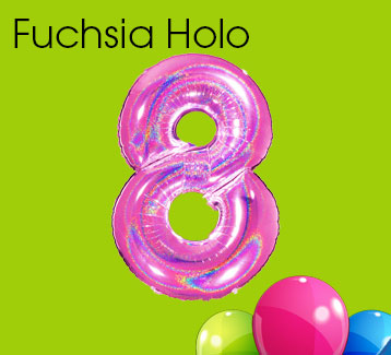 Fuchsia Holographic Numbers