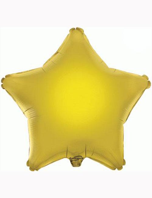 "18"" Gold Star Foil Balloon"