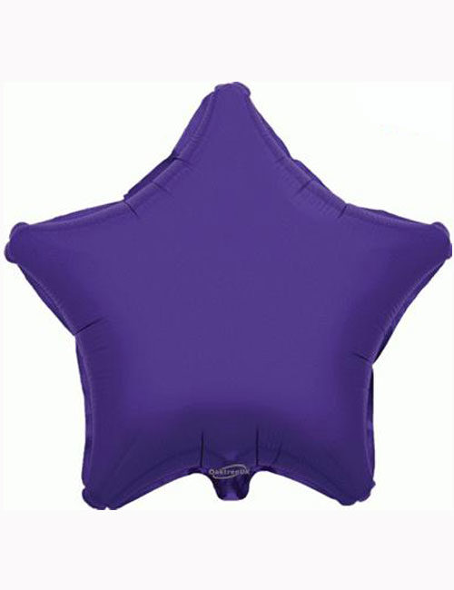 "18"" Purple Star Foil Balloon"