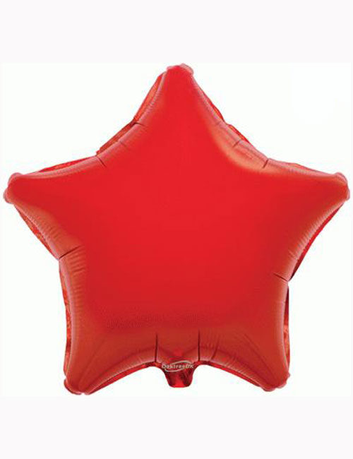"18"" Red Star Foil Balloon"