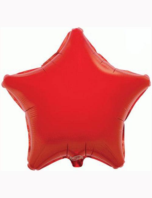 "18"" Red Star Foil Balloon"