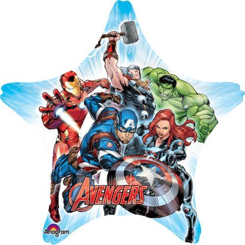 avengers jumbo star shape
