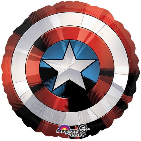 avengers shield shape