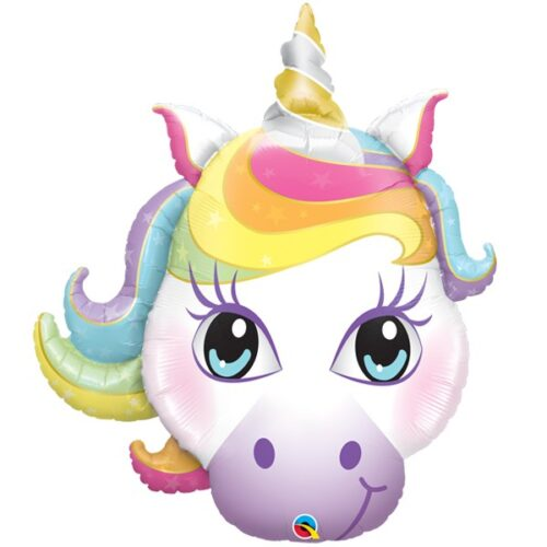 magical unicorn shape balloon