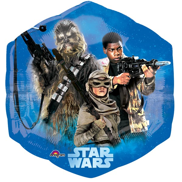"Star Wars Episode VII Supershape (22"" x 23"")"