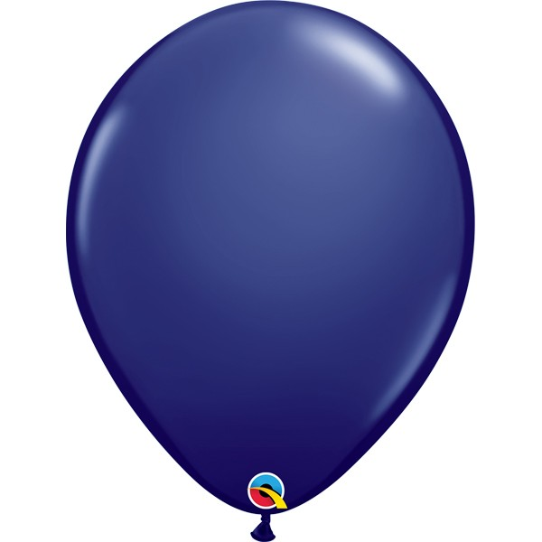 "11"" Fashion Navy Latex balloon"