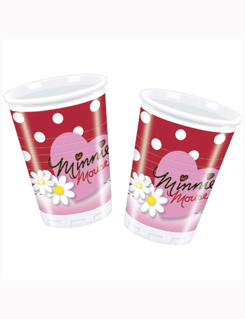 Minnie Mouse Cups