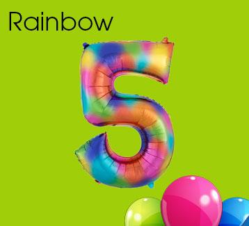 Rainbow Splash Numbers
