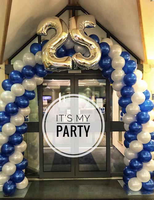 Taverham Vets Balloon Arch