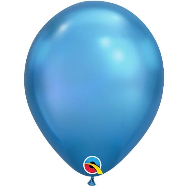 blue-11-chrome-latex-balloons