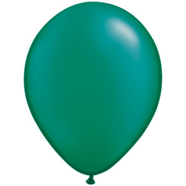 emerald-green-11-pearl-latex-balloons