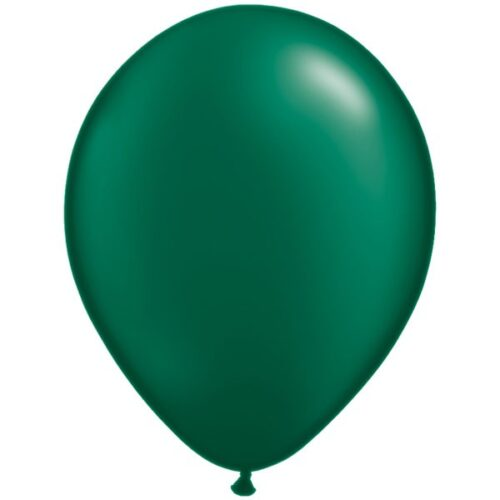 forest-green-11-pearl-latex-balloons