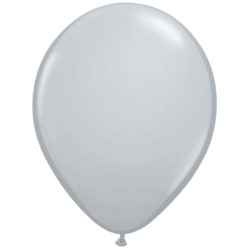 "11"" Fashion Grey Latex Balloons"