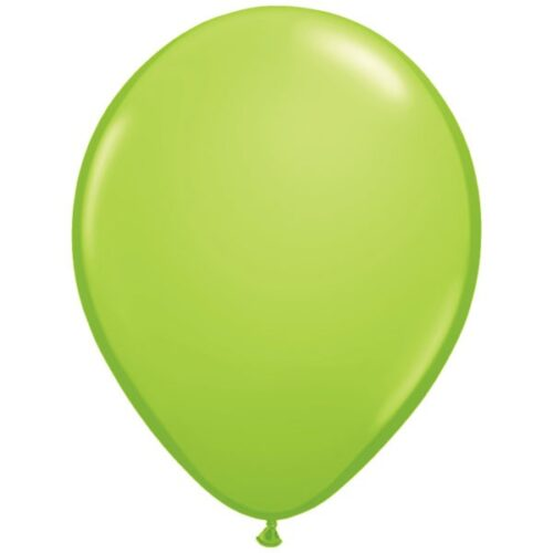 "11"" Fashion Lime Green Latex Balloons"