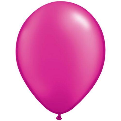 magenta-11-pearl-latex-balloons
