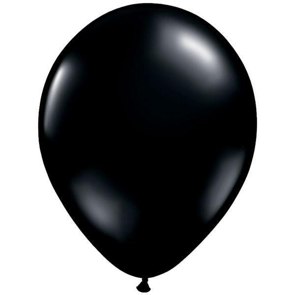 """11"""" Fashion onyx black Latex balloons"""