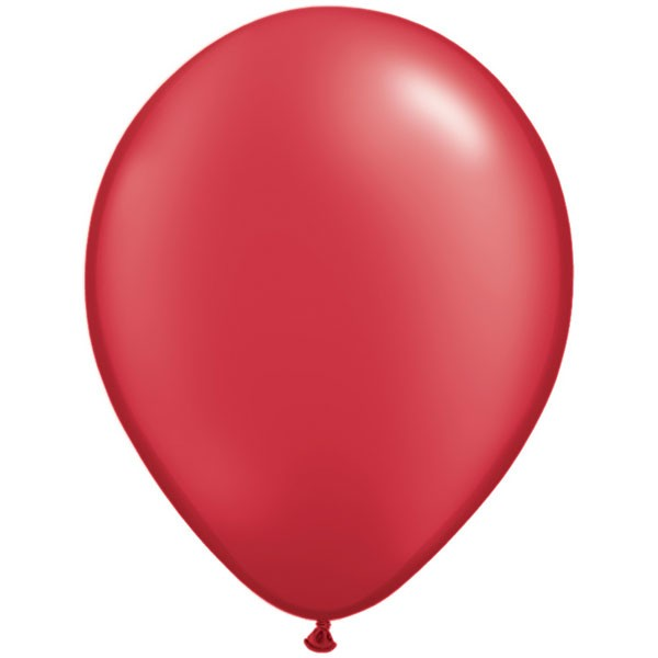 ruby-red-11-pearl-latex-balloons