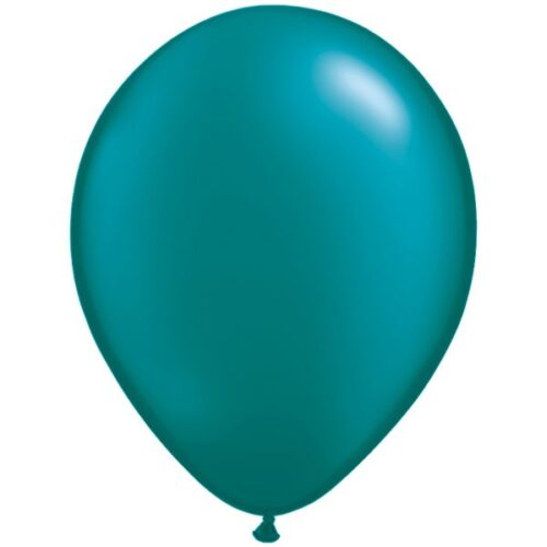 teal-11-pearl-latex-balloons