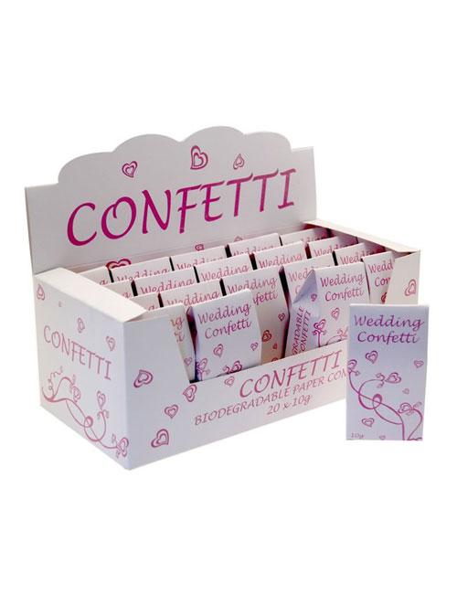 Confetti Pink White